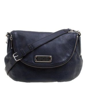 Marc Jacobs Navy Standard Supply Satchel Purse